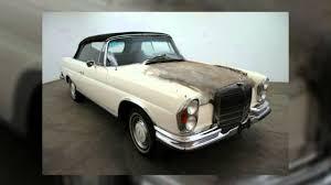 mercedes 280se coupe for sale 1971 mercedes 280se 3 5 cabriolet for sale