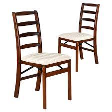 Shaker Dining Room Chairs Shaker Ladder Back Hardwood Folding Chair Light Cherry Walmart Com