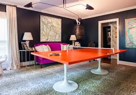 Ping Pong Table Cheap One Room Challenge Spring 2015 The Ping Pong Emporium Reveal