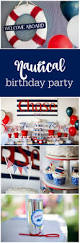 guest party boy u0027s nautical first birthday party