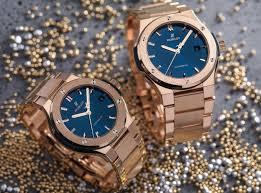 blue titanium bracelet hublot images Hublot classic fusion bracelet blue masterhorologer jpg