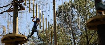 Backyard Zip Line Without Trees by Aerial Adventure Hilton Head 2 Hour Challenge