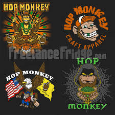 cartoon beer cartoon beer monkey t shirt designs freelance fridge