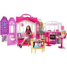 Barbie Glam Bathroom by Buy Barbie Glam Getaway House Online At Best Price In India Toycart