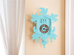 small modern cuckoo clock by fundeco