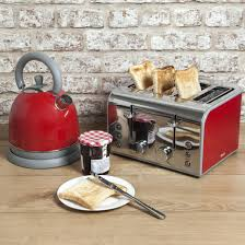 Microwave And Toaster Set Kettle And Teapot Set Next Heart Kitchen Set 4 Slice Toaster