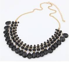 resin beaded necklace images Bohemian resin beads collar necklace panache by nature jpg