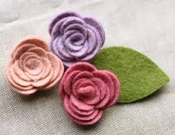 felt flowers daily craft deals unassembled felt flowers 71