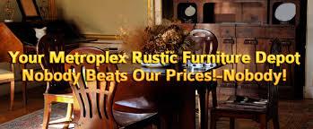 Rustic Solid Wood And Western Furniture Garland TX - Western furniture san antonio