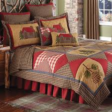 Bedding Quilt Sets Rustic Bedding Cabin Bedding Black Forest Decor