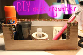diy desk organizer made out of cereal box youtube