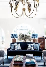 brown and blue living room impressive home design
