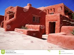 classic adobe house royalty free stock image image 12251586
