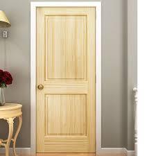 Panel Interior Door Kiby Colonial 2 Panel Solid Pine Slab Interior Door Reviews