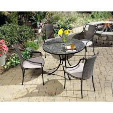patio ideas stone table patio furniture sets stone garden