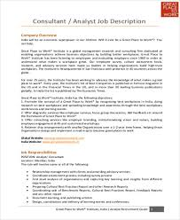 Business Analyst Roles And Responsibilities Resume Research Analyst Job Description Marketing Analyst Resume