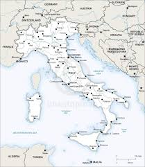 Map If Italy by Vector Map Of Italy Political One Stop Map