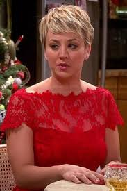 penny with short hair kaley cuoco 980x571 hair pinterest kaley cuoco bangs and