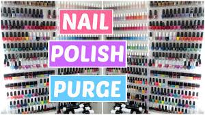 nail polish declutter organization and collection