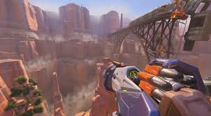 Map Route 66 by Overwatch Route 66 U0026 Rockets New Map Youtube