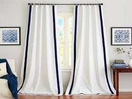 pottery barn room designer white grommet curtain panels white
