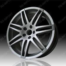 audi titanium wheels alloy wheels for titanium audi rs4 17 rsi332