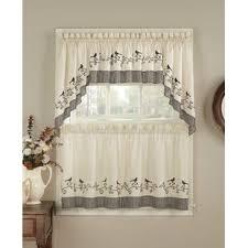 rideaux de cuisine cantonnières type de traitements de fenêtre rideaux de cuisine