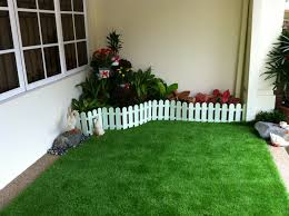 beautify your home garden with artificial grass or artificial