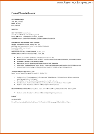 sample resume physical therapy assistant eop essay help