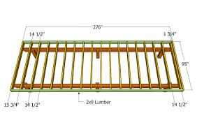 porch blueprints blueprints and plans for building decks how to build deck frame