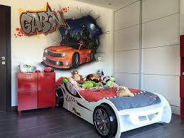deco chambre garcon voiture beautiful chambre garcon voiture de course contemporary design