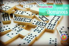 play learning math with dominoes the outlaw mom blog