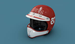 motocross racing helmets 3d bmx vintage motocross race helmet cgtrader
