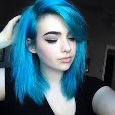 25 trending bright blue hair ideas on pinterest electric blue