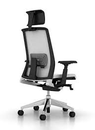 Haworth Chair Contemporary Executive Chair Mesh Fabric Adjustable Height