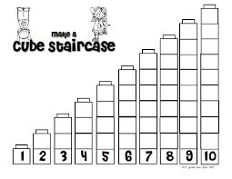 first grade blue skies pete the cat building a staircase freebie