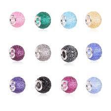 pandora bead charm necklace images Aifeili retail fashion white glass beads charms fit pandora charms jpg