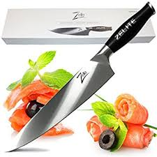 amazon com bodyguard chef knife 8 inch stainless steel kitchen
