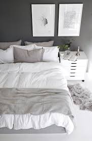 White Bedroom Pop Color Best 25 Grey And White Bedding Ideas On Pinterest Grey Bedrooms