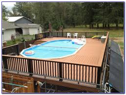 above ground swimming pool deck designs home design ideas 40