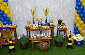 Minion Birthday Decorations 51 Ideias Para Festa Tema Minions Birthday Party Ideas