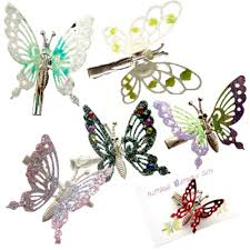 butterfly for hair free shipping 50 pack of 90s butterfly hair 90s accessories