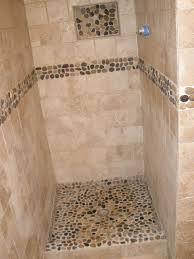 river rock bathroom ideas shower stall river rock home ideas rooms bath photos bathroom