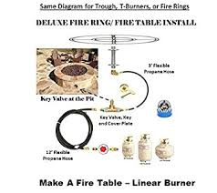 How To Build A Propane Fire Pit Table by Amazon Com Fr12ck Diy 12