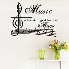 Musical Home Decor by Online Get Cheap Music Note Quotes Decorations Aliexpress Com