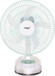 Small Table Fan Price In Delhi Eveready Rf 06 Rechargeable 5 Blade Table Fan Price In India Buy