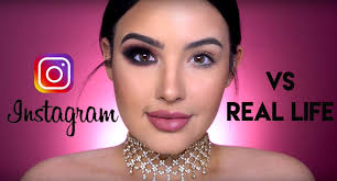 halloween makeup app beauty blogger amanda ensing shows the difference between