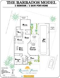 reunion pointe features four rver designed floor plans that