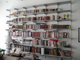 White Wall Mounted Bookcase by Furniture Modern Room Decor Ideas With White Wall Mounted Shelves