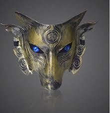 wolf masquerade mask kill seal mask werewolves kill club to prevent